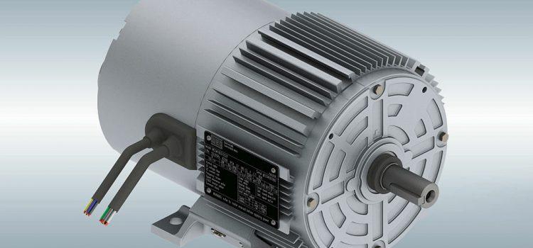 Elektronisch gecommuteerde IEC-motor van WEG